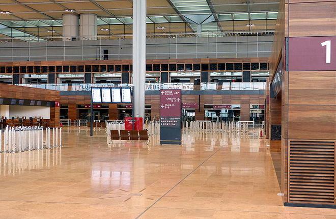Берлинский аэропорт «Бранденбург» на этапе 80%-й готовности