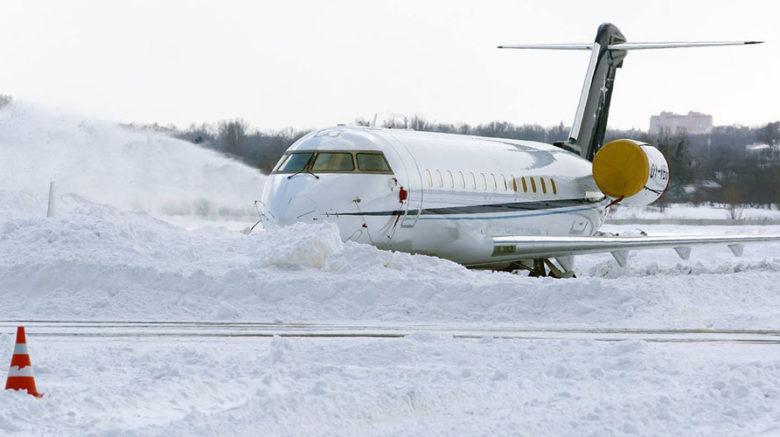 Снегопад вынудил Turkish Airlines отменить более 300 авиарейсов