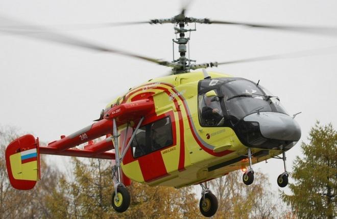 Двухмоторные вертолеты Ка-226Т теперь будут собирать в Улан-Удэ