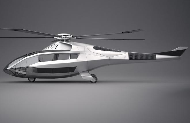 Новый концепт 2-моторного вертолета среднего класса «FC-X»