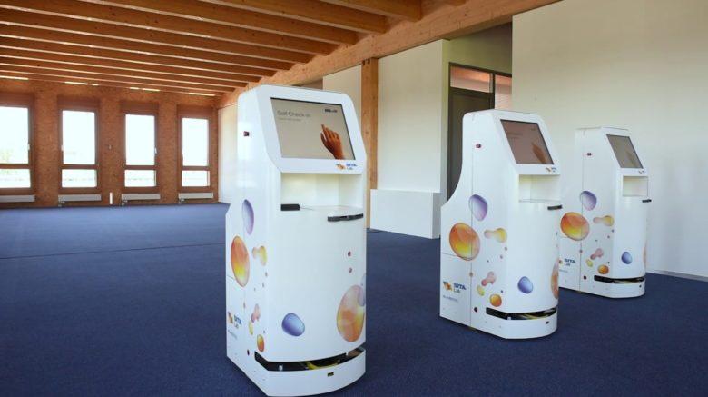 Компания SITA представила киоски-роботы для аэропортов